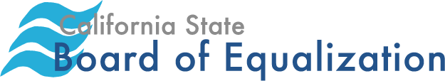 california state board of equalization (BOE) logo
