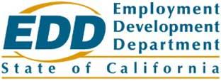 emplloyee development department of california (EDD) logo